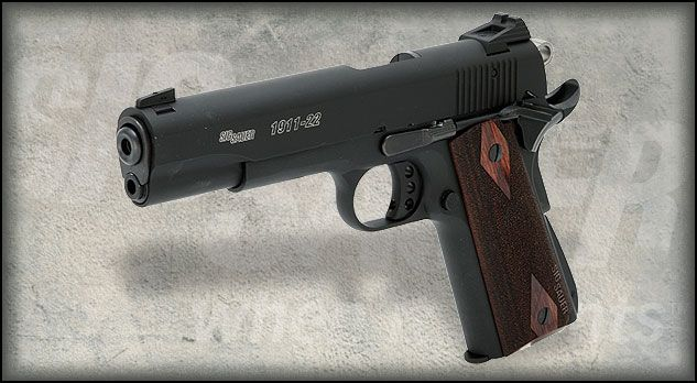 Sig Sauer 1911-22 This is going to be my first gun! Find our speedloader now!  http://www.amazon.com/shops/raeind