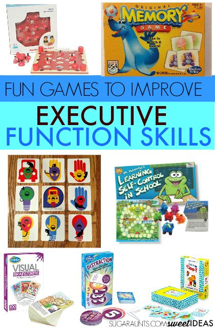 These games are fun ways to help kids improve executive function skills.