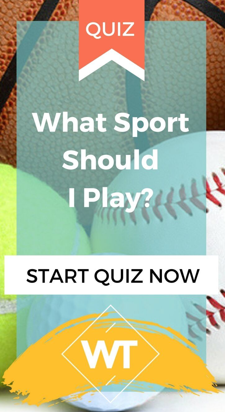 What Sport Should I Play Sports, Play quiz, At home workouts
