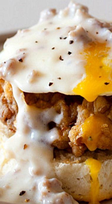 Country Style Eggs Benedict ❊