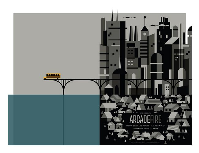 arcade fire have the best gig posters.: Graphic Design, Illustration, Gig Poster, Music Poster, Fire Poster, Concert Posters, Arcade Fire