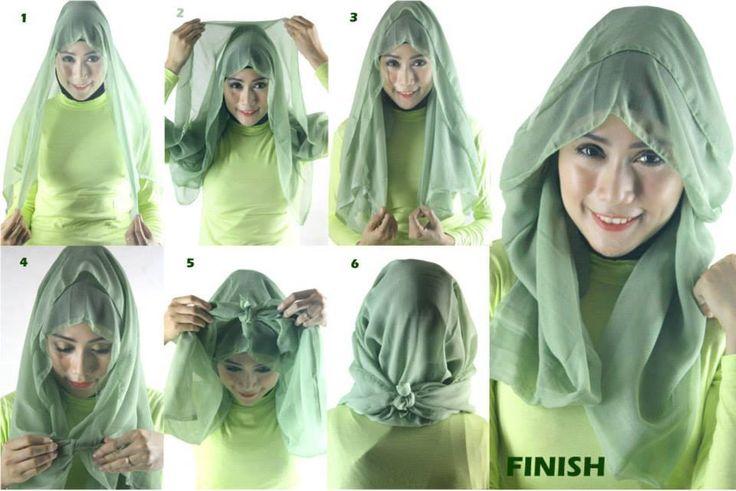 Cara-Memakai-Hijab-Segi-Empat-Modern.jpg (960×641)