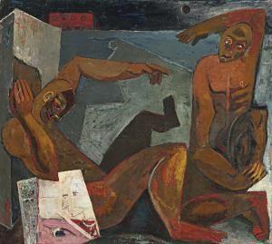 Manicomio rojo.1958.alejandro obregon.