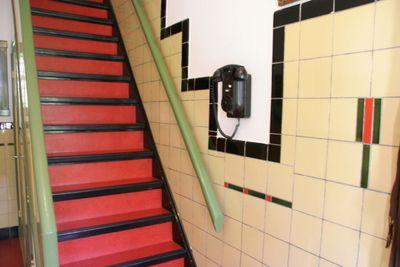 Jaren 30 tegels huis hal voor pinterest - Deco toilet ontwerp ...