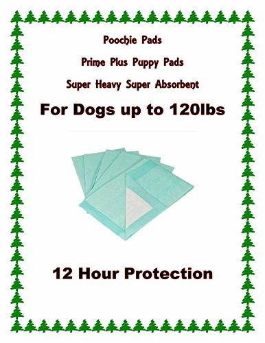 23x36 Poochie Prime Plus The MOST Absorbent Puppy Training pads 72 grams wPoly gel *** Visit the image link more details.