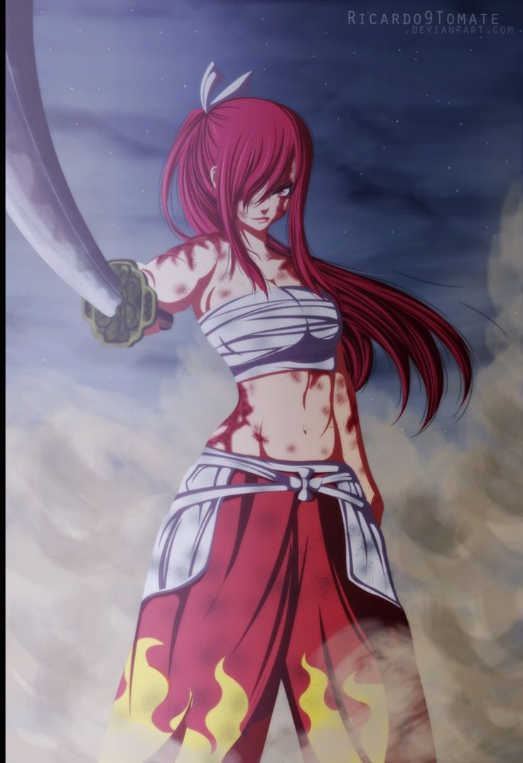 190 best fairy tail images on pinterest fairies fairy - Fairy tail erza sexy ...