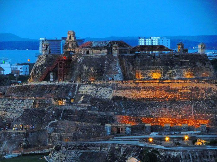 Castillo de San Felipe - Catagena