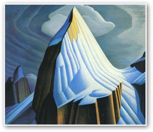 Mount Lefroy by Lawren Harris