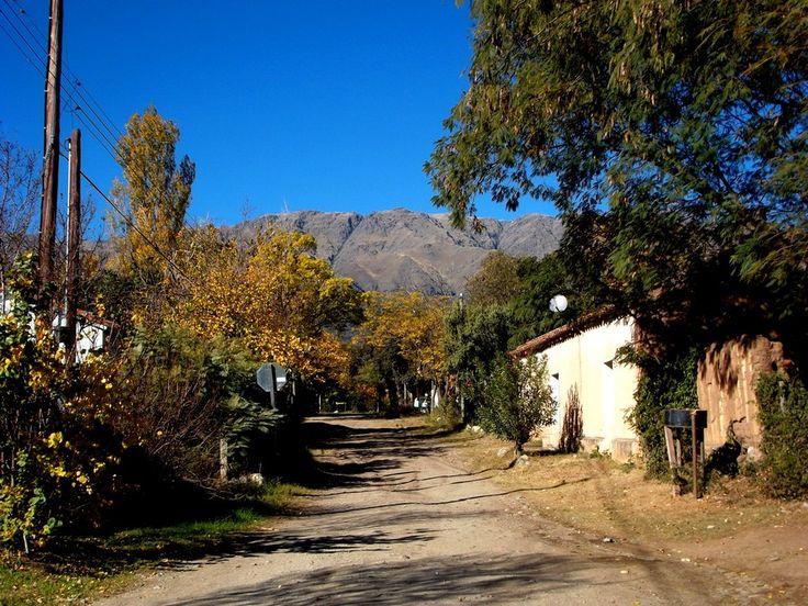 casitas del pueblo de Las Chacras , Córdoba , Argentina