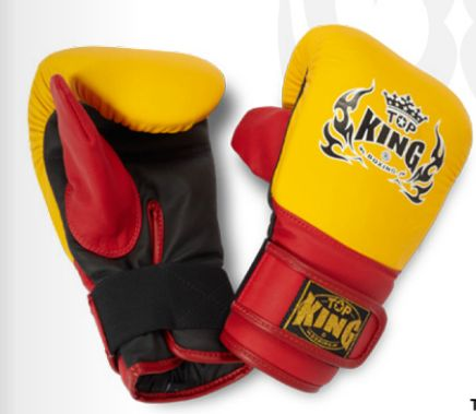 Rukavice na boxovací pytel Top King #http://pinterest.com/savate1/boards/ Boxing gloves for fighters and training