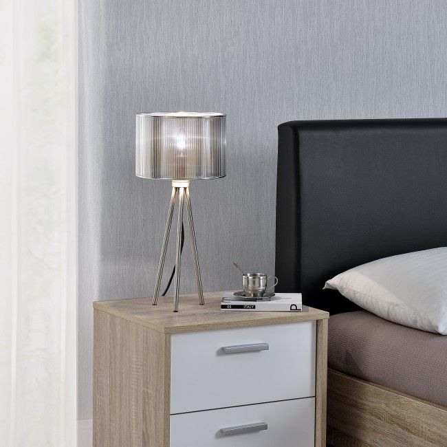 [lux.pro]® Elegáns asztali lámpa - éjjeli szekrény / íróasztal világítás - Asztali lámpák - Beltéri világítás - Világítás - premiumxl Shop