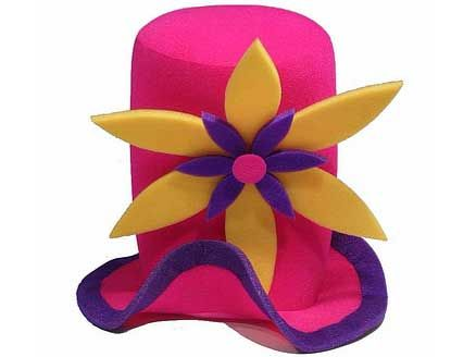 Sombreros Locos De Hule Espuma Para Tus Fiestas K010