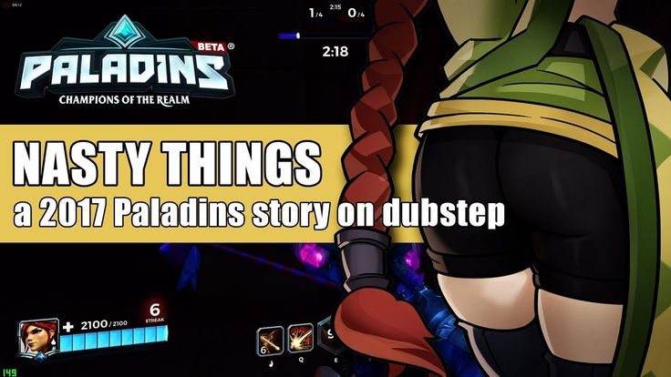 Doing some nasty things with Cassie on dubstep - Paladins Cassie Gameplay