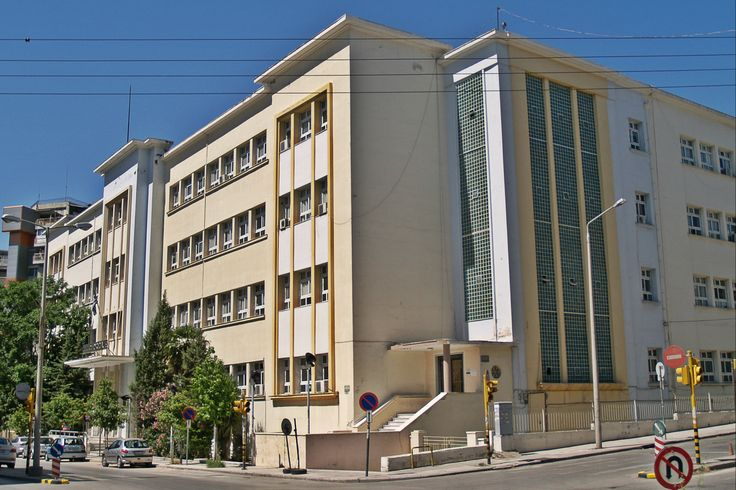 Euclid School has the best reputation among technical schools in Thessaloniki since its foundation in 1952. (Walking Thessaloniki, Route 14 - Papafi)