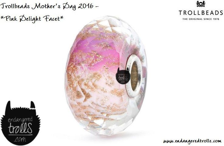 Trollbeads Pink Delight Facet