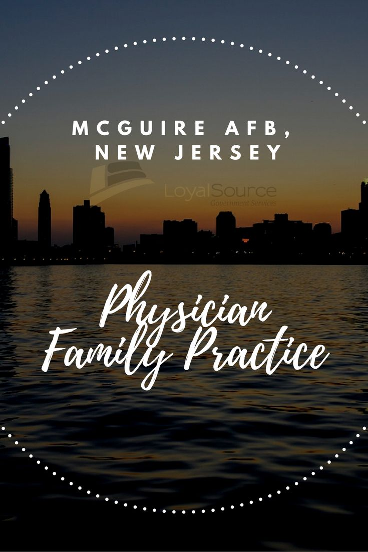 Physician Family Medicine McGuire AFB