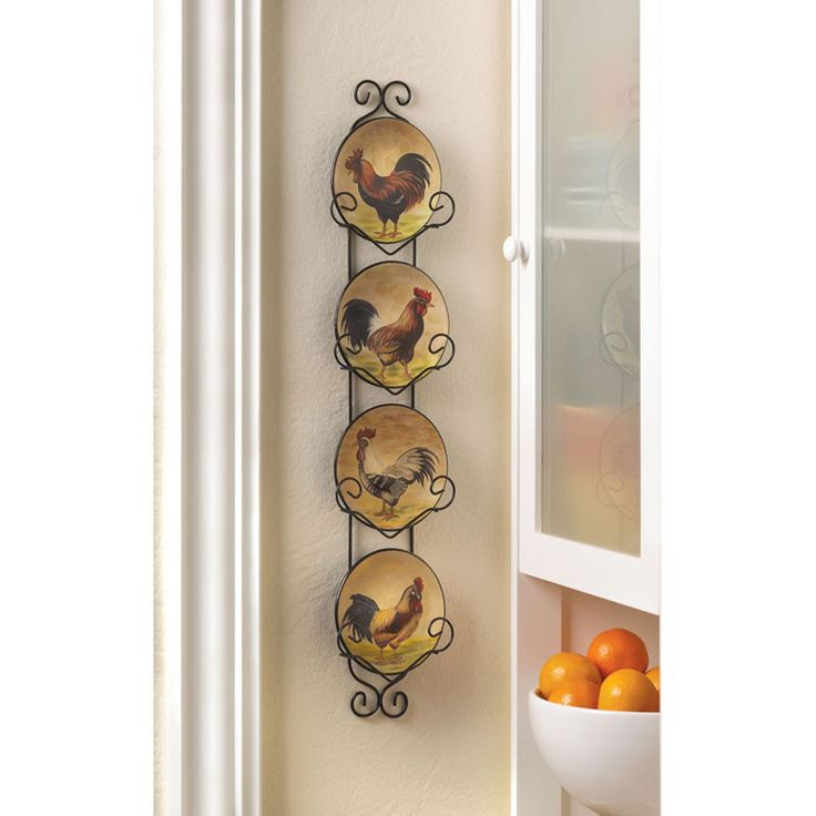 Best 25+ Rooster Plates Ideas On Pinterest