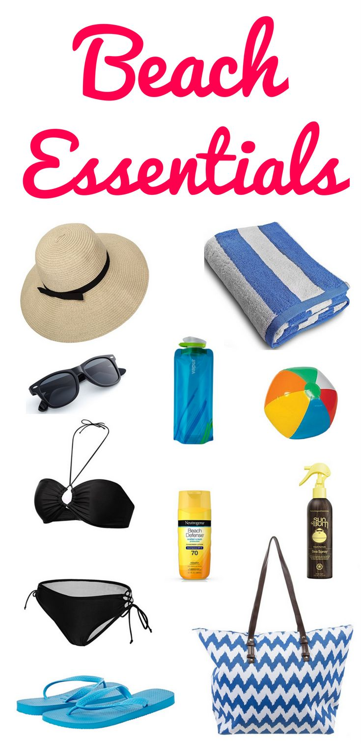 The ultimate beach vacation packing list with all the beach essentials you might need.