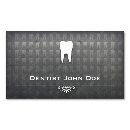 304 best dental business card templates images on pinterest dental metallic grey dentist dental office business card accmission