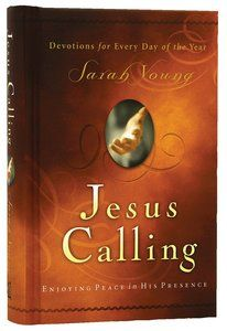 Jesus Calling is a Bestseller  Devotions Hardback by Sarah Young about DEVOTIONS,INTIMACY WITH JESUS CHRIST,INTIMACY WITH JESUS CHRIST,PEACE,PRESENCE OF GOD. Purchase this Hardback product online from koorong.com | ID 1591451884