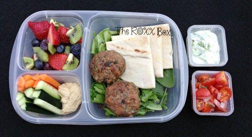 Greek Lamb Mini Burgers with Tzatziki Sauce in ...