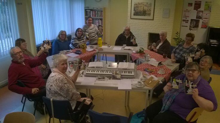Een initiatief van het Leger des Heils in Gorinchem, zoals deze er op tal van plaatsen in Nederland maar ook over onze landsgrenzen heen zijn: ontmoetingsmiddagen voor volwassenen die er plezier aa…