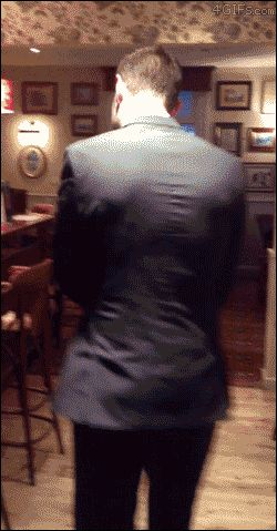 How to exit like a boss. SO. AWESOME. You might say it was a little SUPERNATURAL! - oh my word Jensen!
