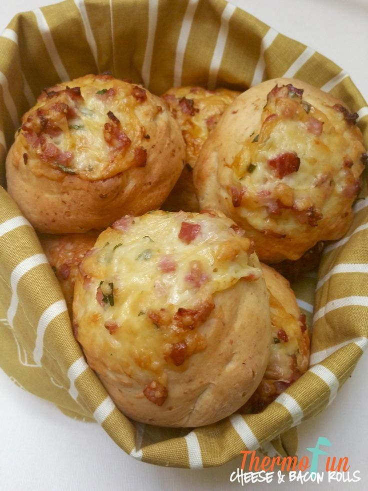 Thermomix Bacon And Cheese Rolls - ThermoFun | Thermomix Recipes