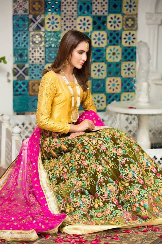 17577bb245 Zahra Ahmad Lehenga Choli Collection 2018 | Eastern & Western Dress ...