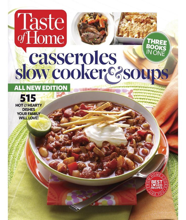 click on image to see 407 images of Taste of Home Casseroles Book