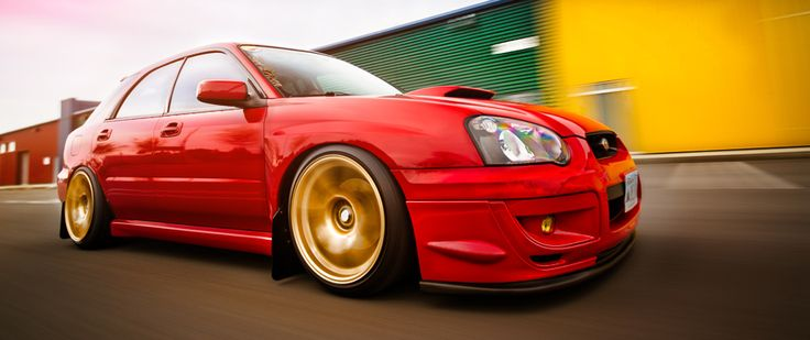 Katie Smith's 2004 Subaru WRX Wagon