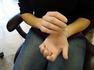 Parrafin Wax manicure