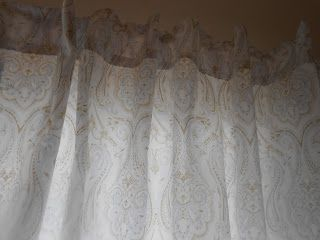 DIY curtains out of bed sheets! No sew!