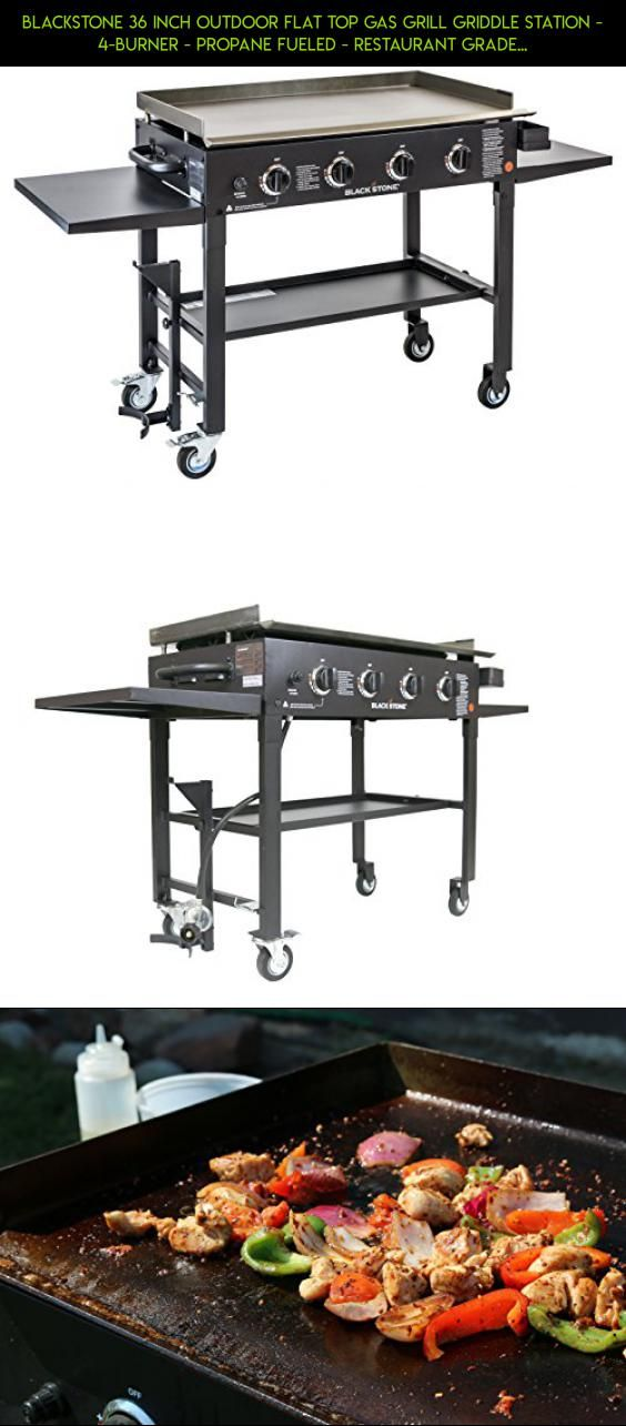 Blackstone 36 inch Outdoor Flat Top Gas Grill Griddle Station - 4-burner - Propane Fueled - Restaurant Grade - Professional Quality #plans #tech #technology #camera #gadgets #racing #propane #gas #parts #grills #fpv #shopping #products #kit #drone