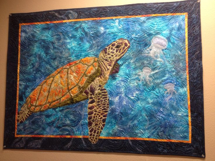 17 best ideas about sea turtle quilts on pinterest