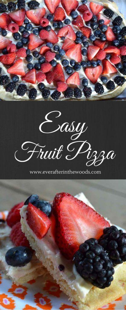 Best Ever Fruit Pizza Dessert #AmericanIcons @Macys AD