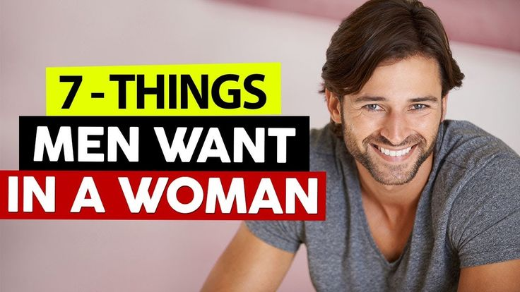 7 Things Men REALLY Want In A Woman! https://youtube.com/watch?v=S0XDJVbb6Vo