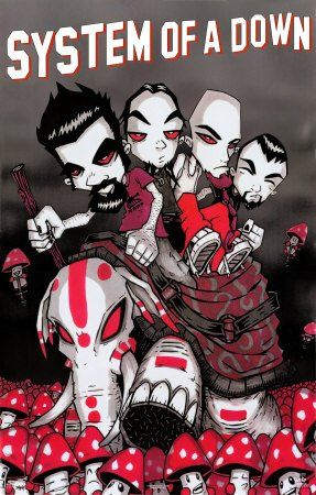 SOAD is back together. They're playing a tour in New Zealand. So Happy!!