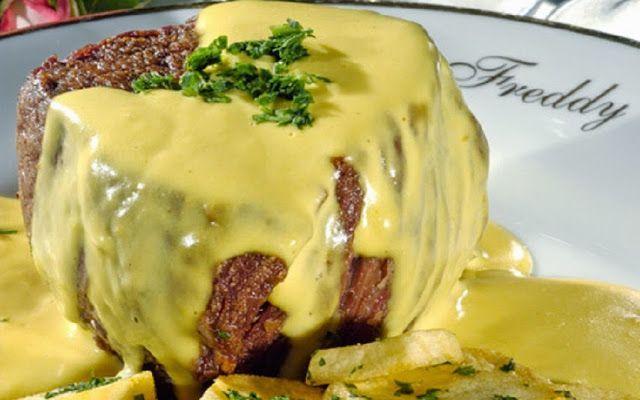 Salsa Com Pimenta: Tournedos de Filet Mignon ao Molho Béarnaise