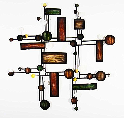 New - Contemporary Metal Wall Art Decor Sculpture - Abstract Map Grid Brilliant Wall Art http://www.amazon.co.uk/dp/B00M0ODB5A/ref=cm_sw_r_pi_dp_WnBUvb173PD2H