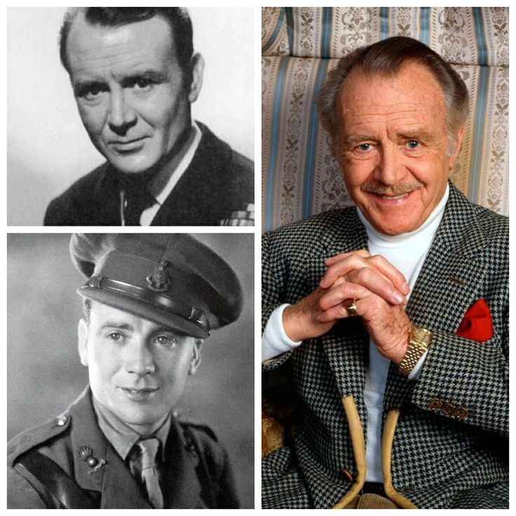 Sir John Mills-WW2-Royal Engineers-2nd Lt.-1942 he received a medical discharge due to a stomach ulcer. (Actor)
