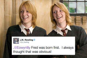 19 Extremely Important Things JK Rowling Taught Us About Harry Potter In 2015  I did not cry at the last one....