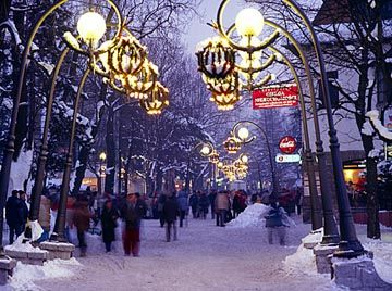 Krupowki during Winter...Poland just seems like the perfect place to be for a Christmas.