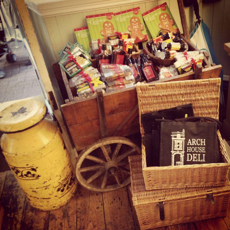 Cart & Milk Churn @ Arch House Deli, Bristol #archhousedeli #deli #clifton #cart #churn