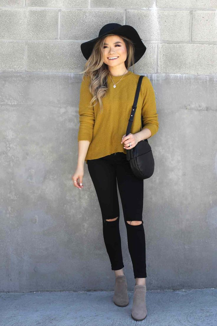 fall-outfits-2017-fall-lookbook-madewell-cross-back-sweater-baggu-bag-topshop-leigh-jeans-vince-camuto-booties-bp-scarf-nordstrom-anniversary-sale - Miss Louie