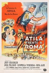 Attila, Der Hunnenkönig (1954) $19.99; aka: Sign Of The Pagan; Stars Jeff Chandler, Jack Palance, George Dolenz, Ludmilla Tchérina, Rita Gam, Allison Hayes and Michael Ansara. This film came from an uncut, widescreen German import of very nice picture quality.
