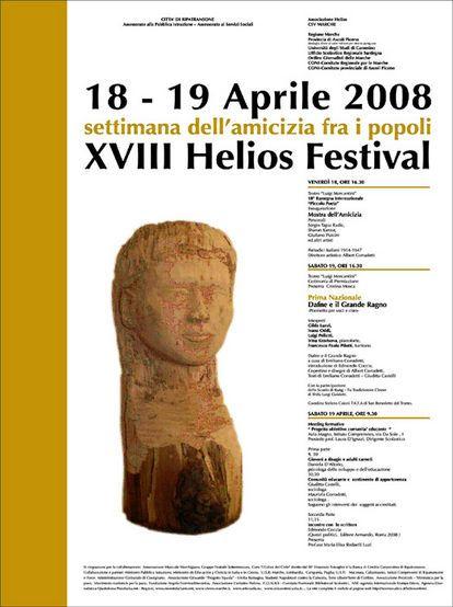 18° Helios Festival - Settimana dell'amicizia fra i popoli - ilQuotidiano.it