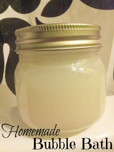 Smith and Blessings: Work It Wednesday: Homemade Bubble Bath