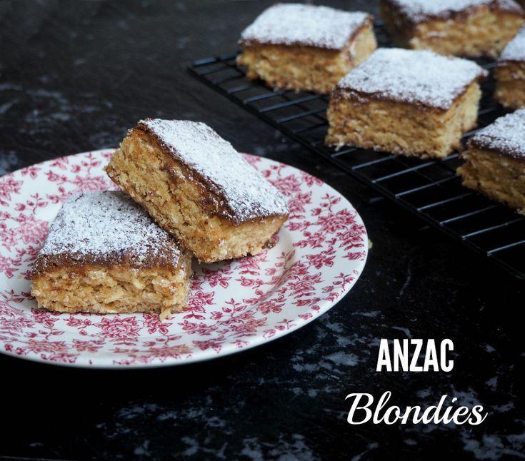 ANZAC Blondies