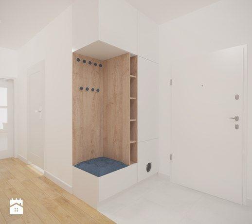 Aranżacje wnętrz - Hol / Przedpokój: Bemowo - 90 m² - Hol / przedpokój, styl minimalistyczny - Studio Monocco. Przeglądaj, dodawaj i zapisuj najlepsze zdjęcia, pomysły i inspiracje designerskie. W bazie mamy już prawie milion fotografii!